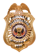 PRIVATE INVESTIGATOR,  PRIVATE DETECTIVE,  INVESTIGADOR PRIVADO,  PI